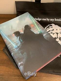 Star Wars Celebration Chicago 2019 MASTER & APPRENTICE SIGNED Book & Pin & Bag