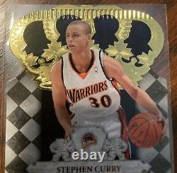 Stephen Curry 2009-10 Panini Crown Royale Rookie Signature Auto RC 23/399