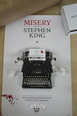 Stephen King (2018)'Misery', US signed limited edition, Suntup Press