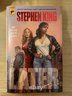 Stephen King Later HAND SIGNED and NUMBERED Limited Edition of 374 Book