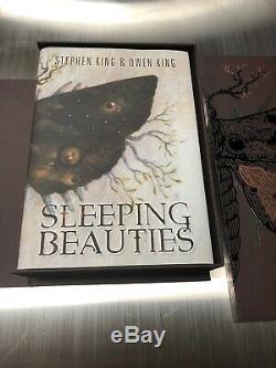 Stephen & Owen King Sleeping Beauties Signed Limited withmatching # Art Portfolio
