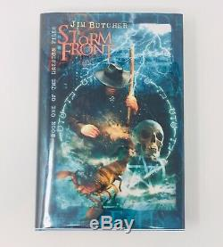 Storm Front Subterranean Press Signed Limited /500 Jim Butcher Dresden Files #1