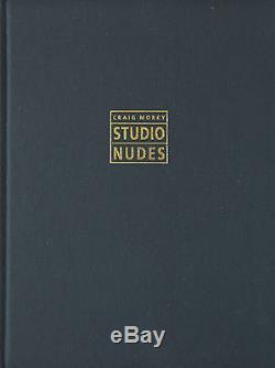Studio Nudes 1989-1992 B&W Art Photo Book + Signed Print by Craig Morey
