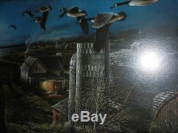 TERRY REDLIN NIGHT FLIGHT Framed Signed- Most sought after print LOOK
