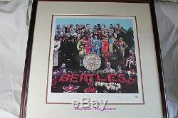 THE BEATLES SGT. PEPPER'S LONELY HEARTS CLUB BAND LIMITED EDITION PRINT with COA