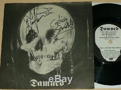 THE DAMNED VERY RARE ORIG 7 stretcher case baby SIGNED 5000 COPIES ONLY PUNK