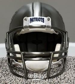 TOM BRADY Limited Edition #1/12 PEWTER Autographed AUTHENTIC Patriots Helmet NFL