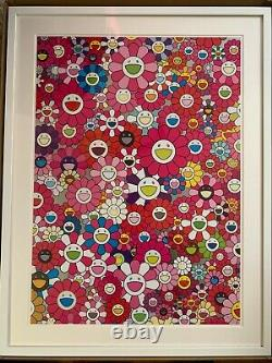 Takashi Murakami'An Homage to Monopink, 1960 Framed. Signed. Limited Edition