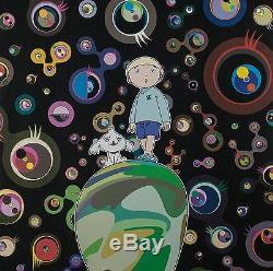 Takashi Murakami, Hand Signed Lithograph, Limited Edition Jelly Fish Eyes