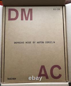 Taschen XXL Book Depeche Mode By Anton Corbijn DM Ac 8118 Signed Limited Edition