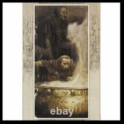 The Mabinogion SIGNED by ALAN LEE Sealed Easton Press Leather Bound Hardback
