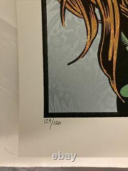The Oracle by Chuck Sperry Screen print Poster Signed and Numbered of 150