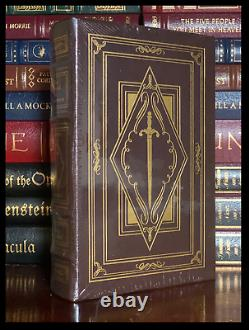The Sword Of Shannara SIGNED by TERRY BROOKS New Easton Press Leather Hardback