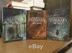 The Sword of Shannara Limited Edition by Terry Brooks Grim Oak Press Leather