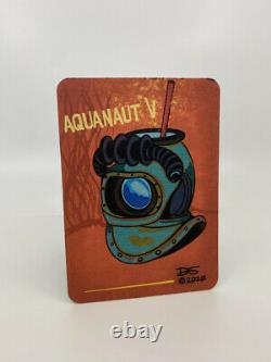 Tiki Diablo Aquanaut V limited edition tiki mug 118/250, signed, comes with card