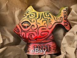 Tiki Ti Piranha Mug Red New Tiki Diablo Limited Edition Sold Out Signed Rare