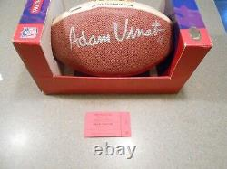 Tom Brady Signed Autographed Limited Edition Of 5000 Football Superbowl/tristar