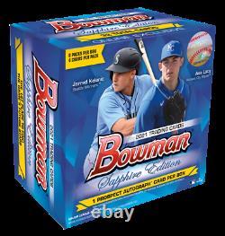 Topps 2021 Bowman Sapphire Edition Sealed Baseball MLB Box Order Confirmed