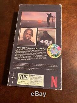 Travis Scott Signed VHS Tape (Limited Edition)