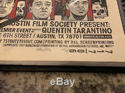 Tyler Stout INGLORIOUS BASTERDS Mondo Poster Print