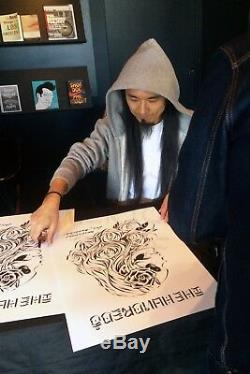 USUGROW x THE HUNDREDS Poster Print HAND SIGNED Numbered x/100 Limited Edition