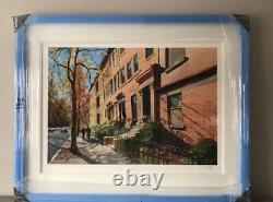 Very Rare Bob Dylan Brooklyn Heights Signed Limited Edition Print (Sold Out)