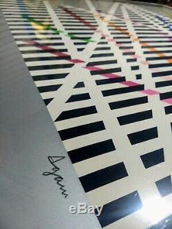 Yaacov Agam Limited Edition Signed and numbered in pencil. 109/180 Silkscreen