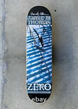 Zero Limited Edition'Smith Grind' Deck Signed By Jamie Thomas RARE